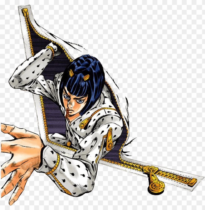 free PNG svg free neggie jjba jojos bizarre adventure vento - sticky fingers jojo PNG image with transparent background PNG images transparent