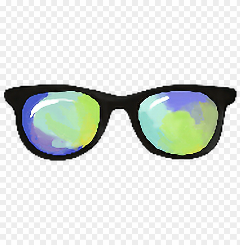 free PNG svg freeuse download summer sunglasses rainbow hipsterstyle - reflectio PNG image with transparent background PNG images transparent