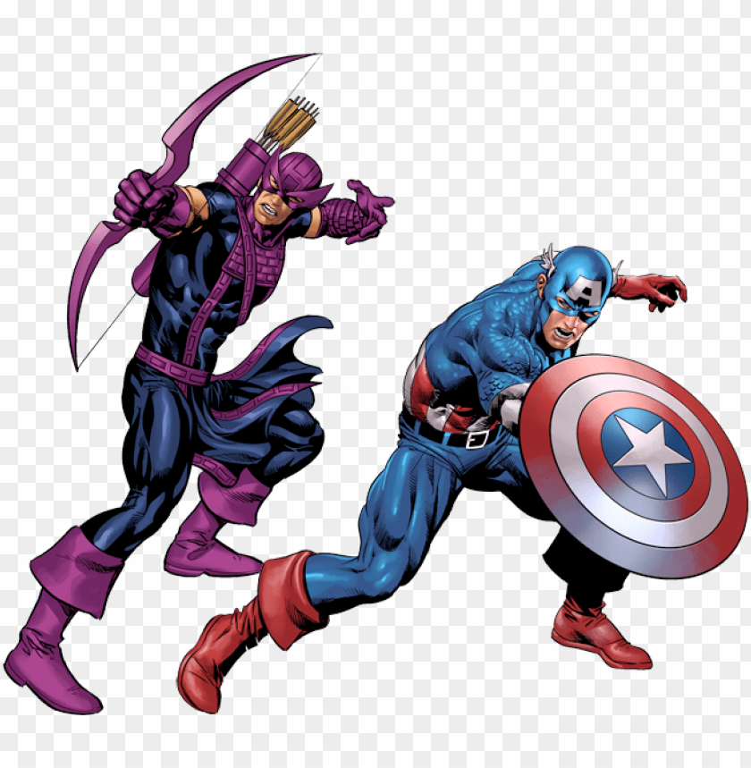 free PNG svg freeuse shang chi daredevil vs captain america - hawkeye captain america comic PNG image with transparent background PNG images transparent
