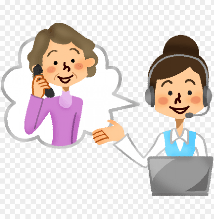 free PNG svg library library call center operator with senior - call center clipart PNG image with transparent background PNG images transparent
