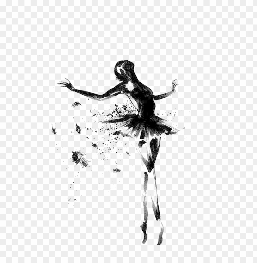 Svg Stock Collection Of Free Dancer Pointe Download Ballet Dibujo Png Image With Transparent Background Toppng