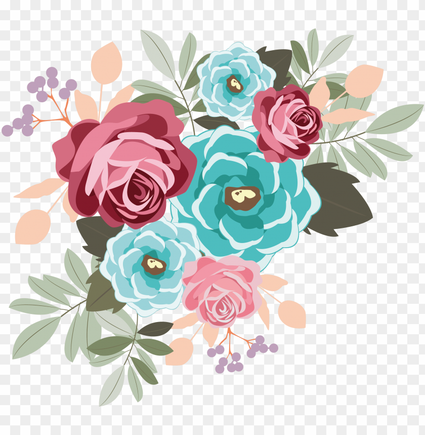 Svg Transparent Download My Design Beautiful Flowers Flower Png Image With Transparent Background Toppng,What Goes Well With Blue And Orange