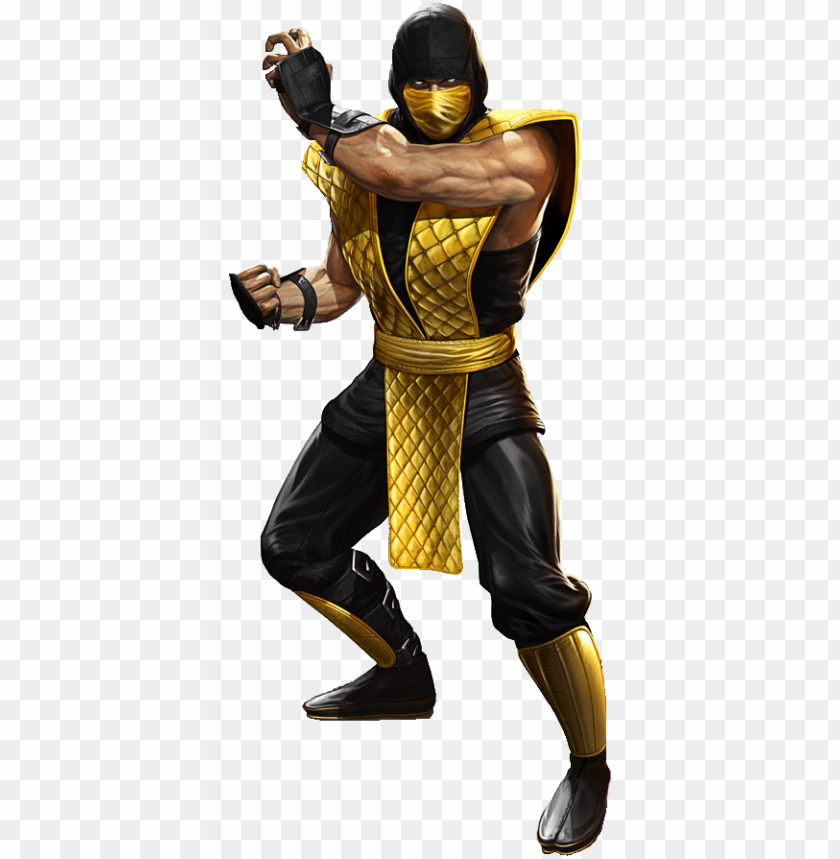 Svg Transparent Library Render By Yukizm On Deviantart Scorpion Png Mortal Kombat Png Image With Transparent