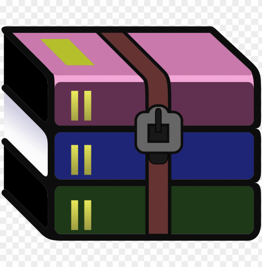 free PNG svg wikipedia winrar logo - disk compression software logo PNG image with transparent background PNG images transparent