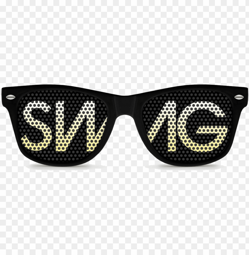 free PNG swag glasses png image background - swag black retro party sunglasses PNG image with transparent background PNG images transparent