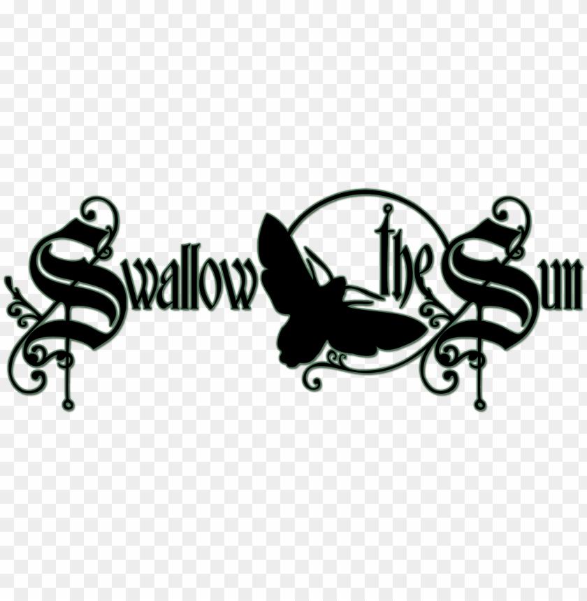 swallow the sun logo png image with transparent background toppng toppng
