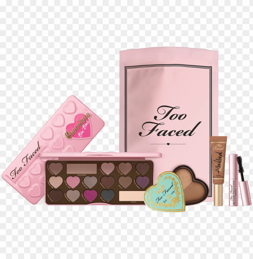 free PNG sweet & sexy makeup set sexy makeup, makeup set, famous - too faced sweet & sexy indulgent makeup set bundle PNG image with transparent background PNG images transparent