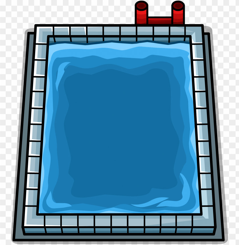 free PNG swimming pool sprite 002 - rectangular swimming pool clipart PNG image with transparent background PNG images transparent