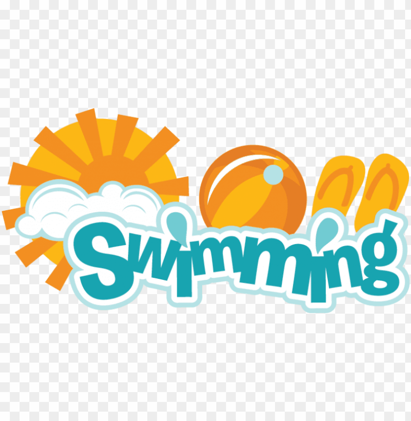 free PNG swimming svg scrapbook title swimming svg scrapbook - swimming is fun clipart PNG image with transparent background PNG images transparent