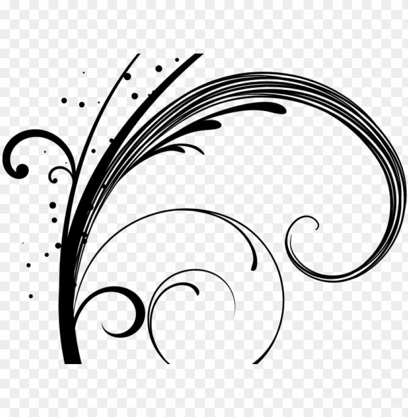 Free Black Swirls Cliparts, Download Free Clip Art, Free Clip Art on Clipart  Library