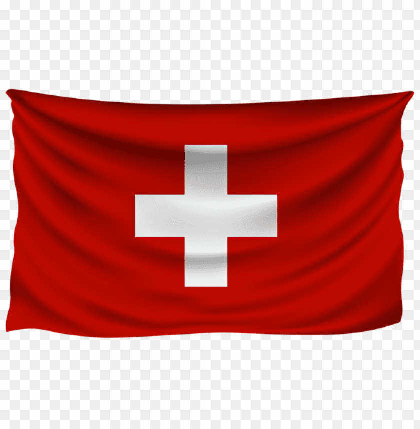 free PNG Download switzerland wrinkled flag clipart png photo   PNG images transparent