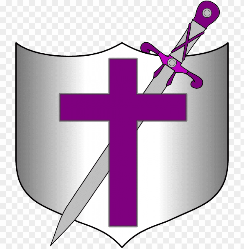 free PNG sword and shield clip art at clker - shield with cross and sword PNG image with transparent background PNG images transparent