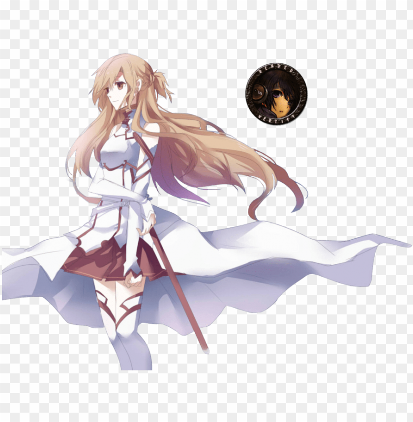 sword art online render - sword art online asuna render PNG image with transparent background@toppng.com