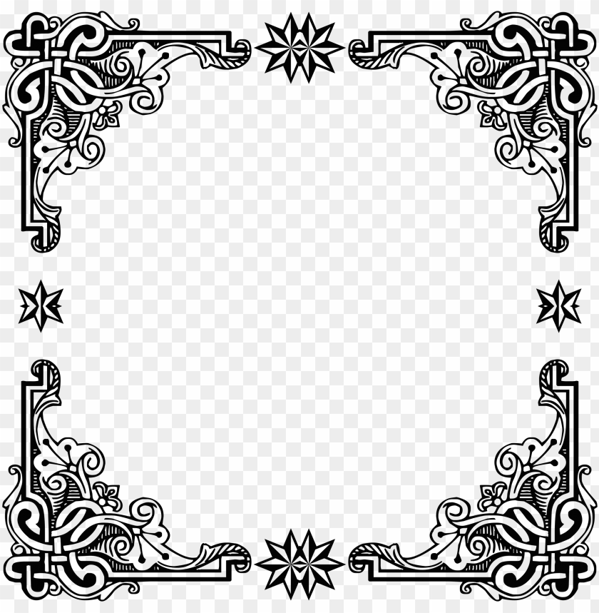 free PNG symmetric frame icons free - medieval frames and borders PNG image with transparent background PNG images transparent
