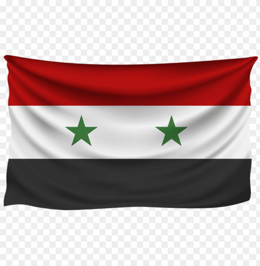 free PNG Download syria wrinkled flag clipart png photo   PNG images transparent