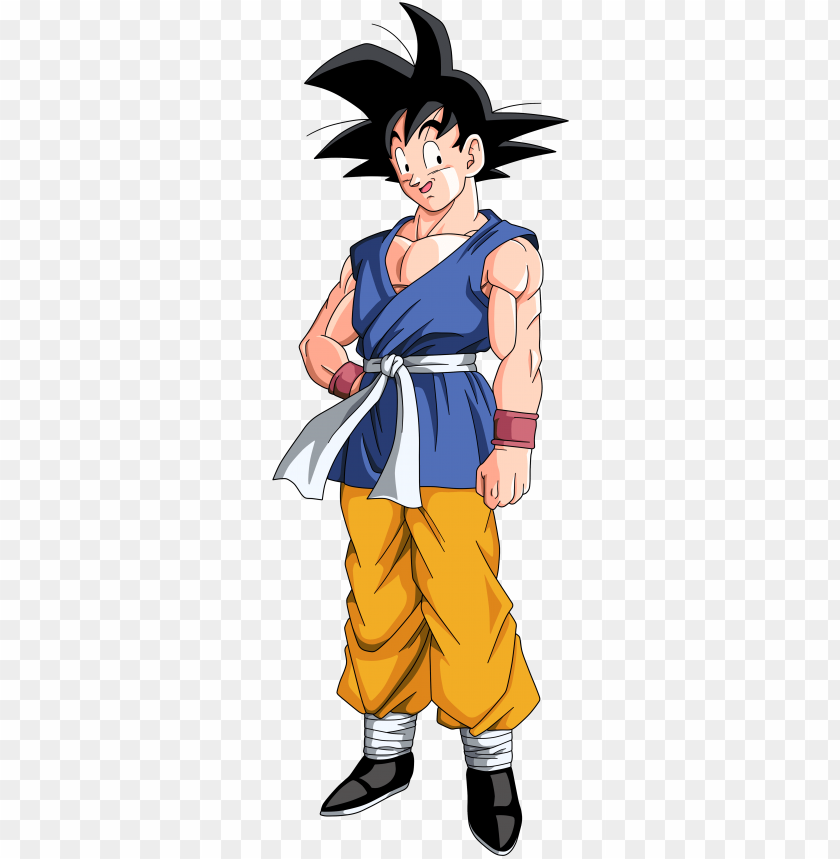 T Adult Goku Dragon Ball Goku Gt Png Image With Transparent Background Toppng