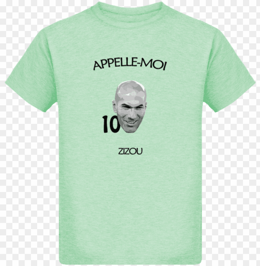 "free PNG t-shirt enfant bio ""zidane"" - active shirt PNG image with transparent background PNG images transparent"