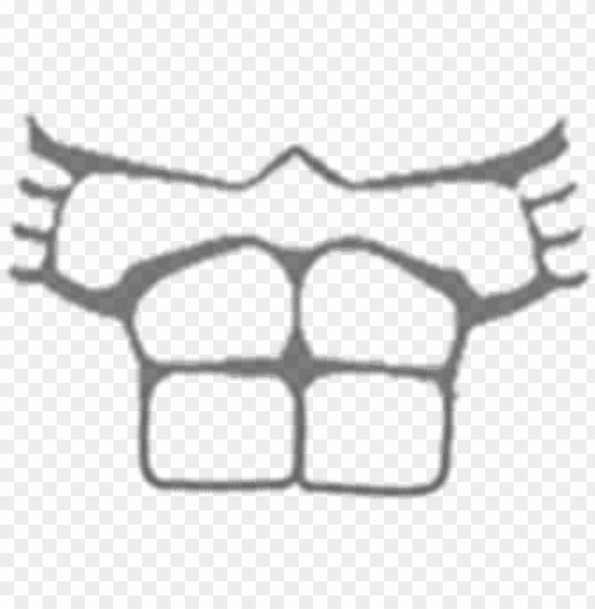T Shirt Roblox Muscle T Shirt Template Png Image With