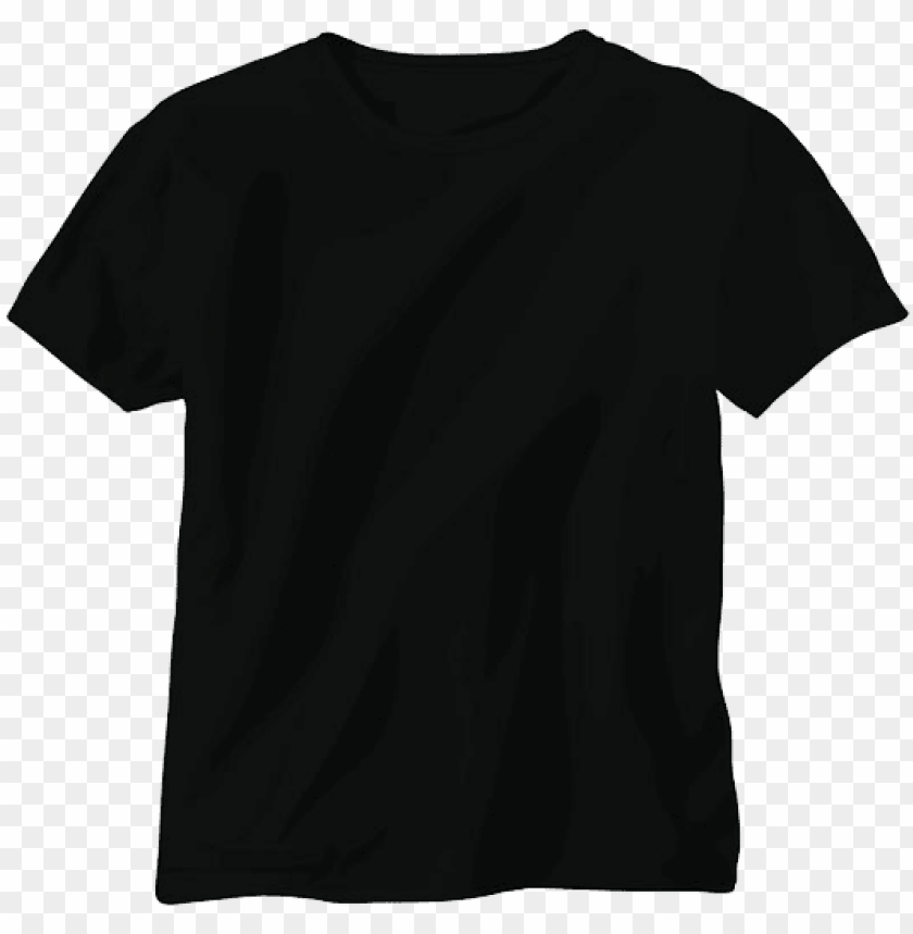free PNG t-shirt template png pic - maison margiela black t shirt PNG image with transparent background PNG images transparent