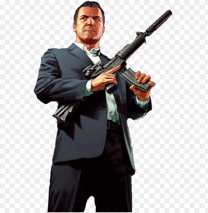 free PNG ta5 micheal-png - gta v michael PNG image with transparent background PNG images transparent