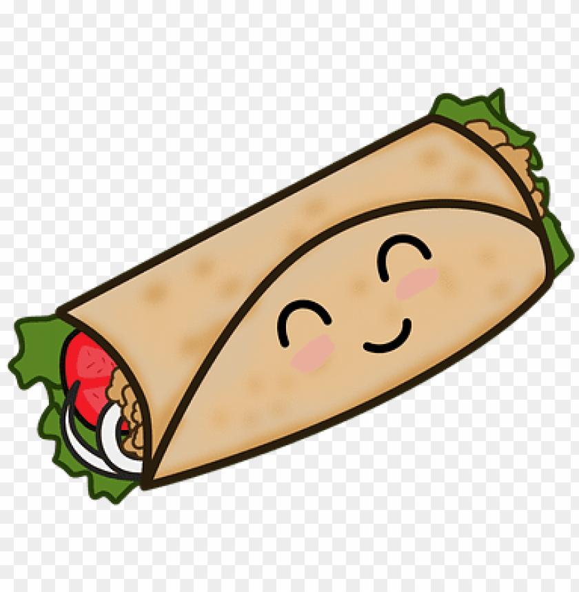 Taco Mexican Food Taco Kawaii Taco Mexicano Dibujo Png