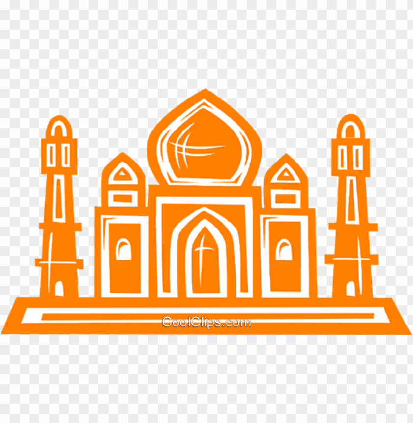 free PNG taj mahal royalty free vector clip art illustration - taj mahal vector PNG image with transparent background PNG images transparent