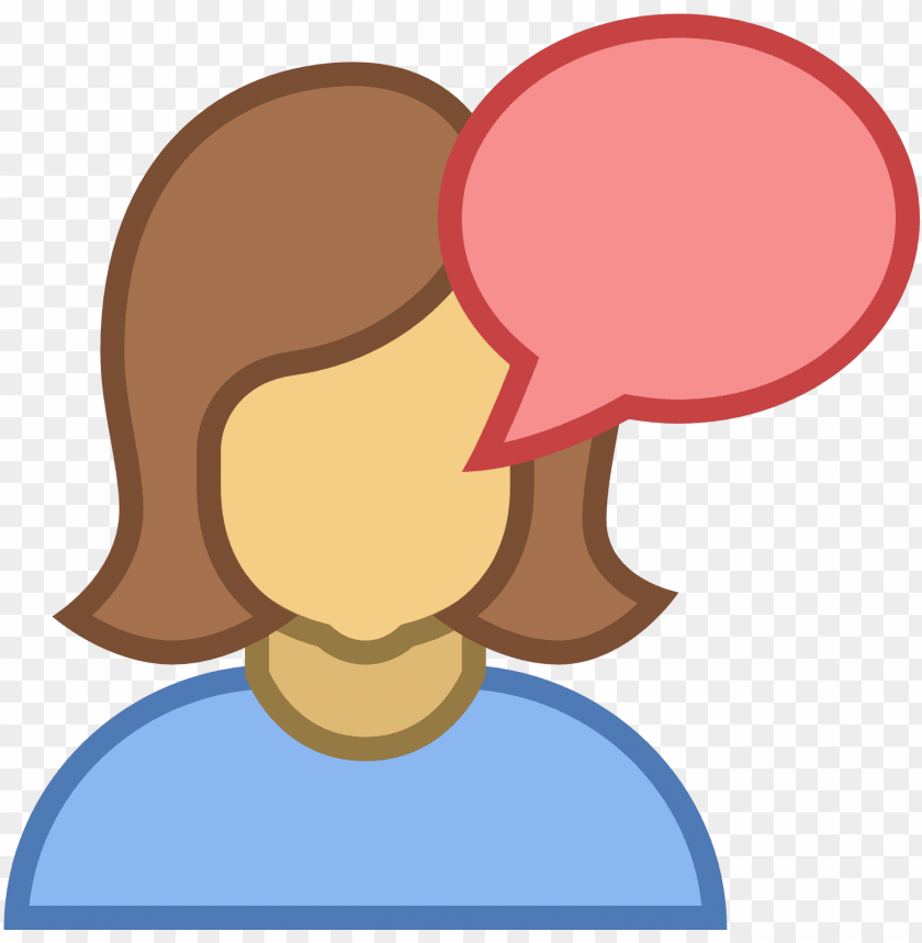 free PNG talk female icon - female talk icon png - Free PNG Images PNG images transparent
