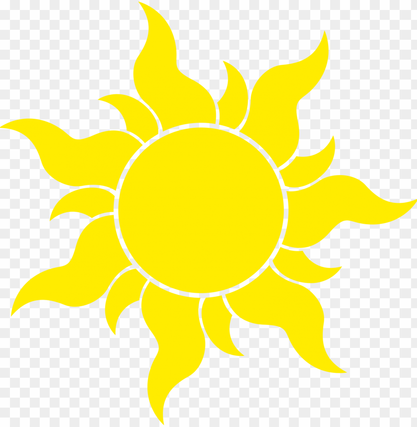 Tangled Sun Symbol Png Image With Transparent Background Toppng