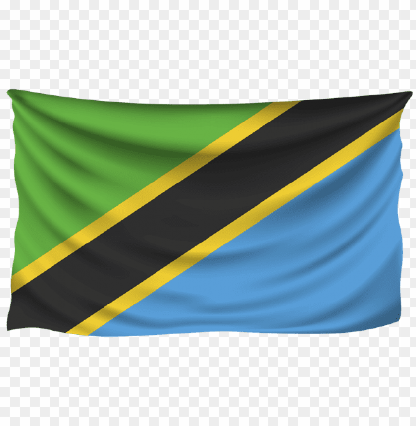 free PNG Download tanzania wrinkled flag clipart png photo   PNG images transparent