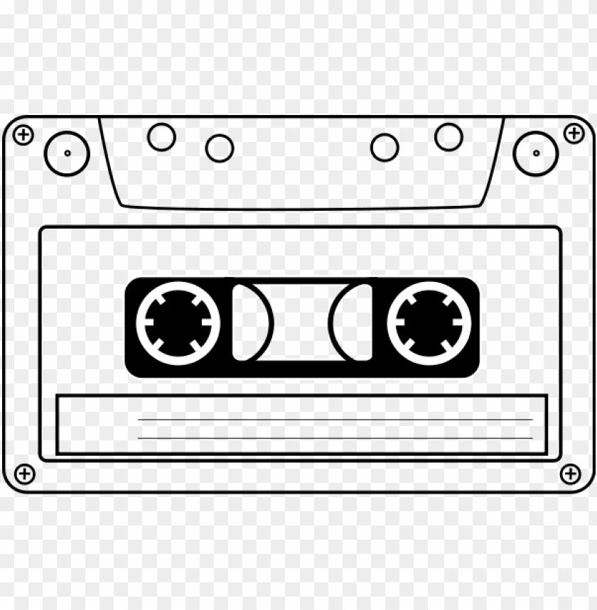 free PNG tape cassette medium 600pixel clipart, vector clip - cassette tape clip art PNG image with transparent background PNG images transparent