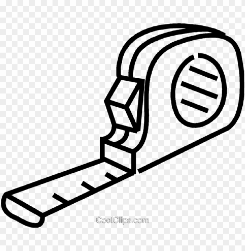 free PNG tape measure royalty free vector clip art illustration - tape measure clipart black and white PNG image with transparent background PNG images transparent