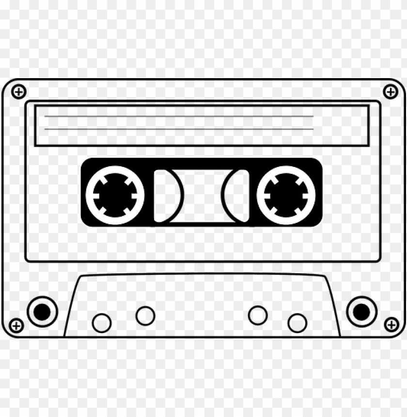 free PNG tape png black and white transparent tape black and - black and white cassette tape clipart PNG image with transparent background PNG images transparent