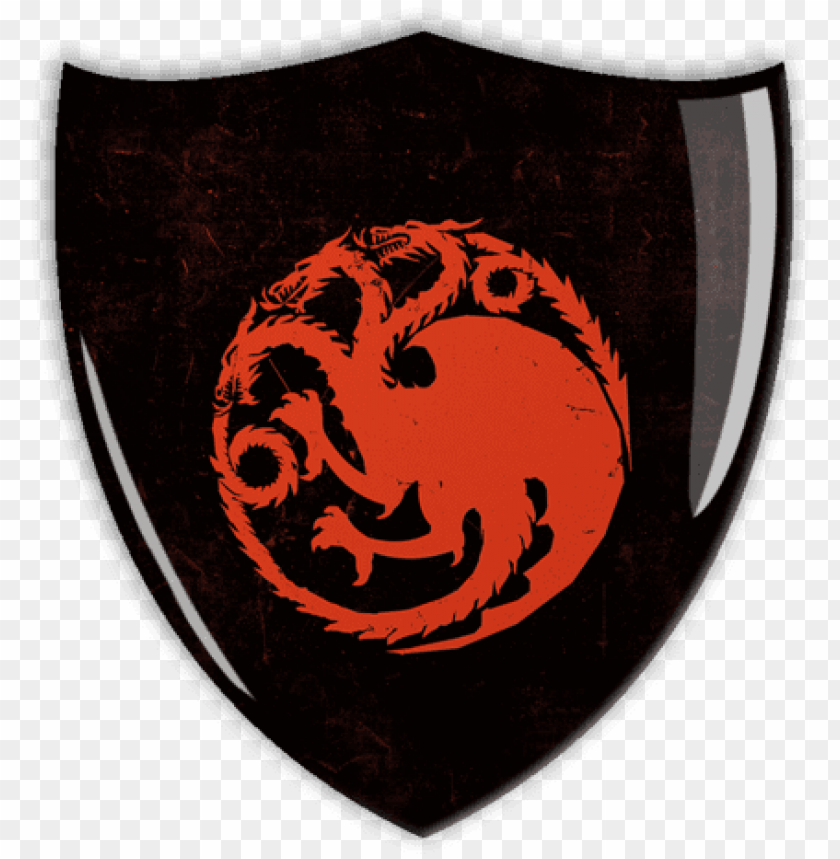 free PNG targaryen - game of thrones coat of arms PNG image with transparent background PNG images transparent
