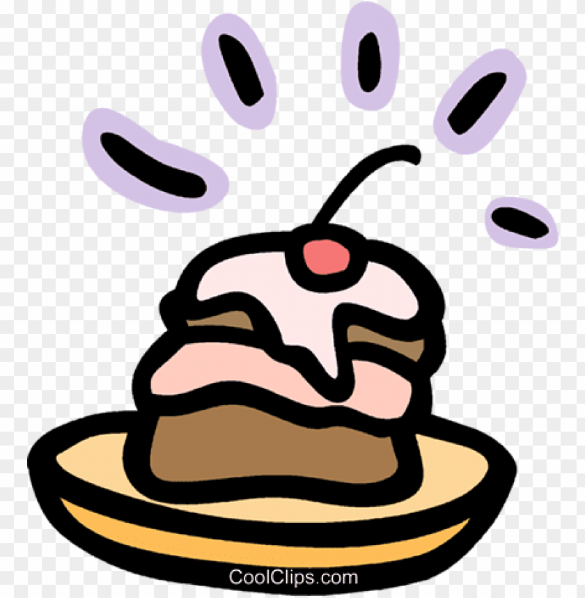 free PNG tasty dessert with cherry on top royalty free vector - tasty dessert with cherry on top royalty free vector PNG image with transparent background PNG images transparent