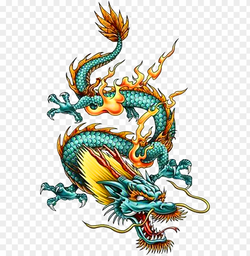 free PNG tattoo chinese dragon china legendary creature clipart - chinese drago PNG image with transparent background PNG images transparent