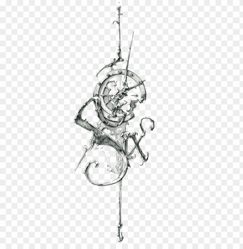 free PNG tattoo sketch art clock of work retro - abstract clock tattoo desi PNG image with transparent background PNG images transparent