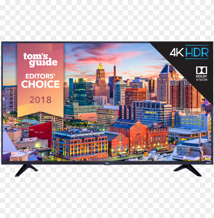 "free PNG tcl 55"" class 5 series 4k uhd dolby vision hdr roku - tcl 43s517 43 inch 4k ultra hd roku smart led tv 2018 PNG image with transparent background PNG images transparent"