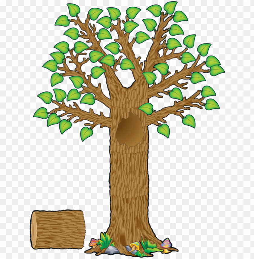free PNG tcr4405 seasonal tree bulletin board display set image - printable tree for classroom display PNG image with transparent background PNG images transparent