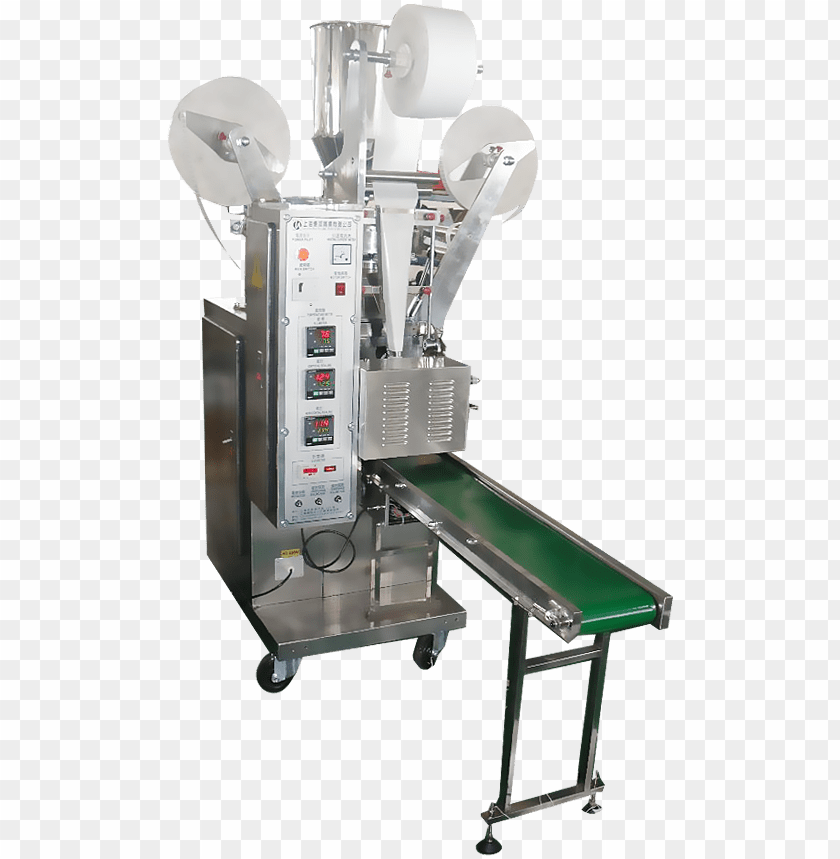 free PNG tea bag packing machine with inner and outer bag - machine tool PNG image with transparent background PNG images transparent
