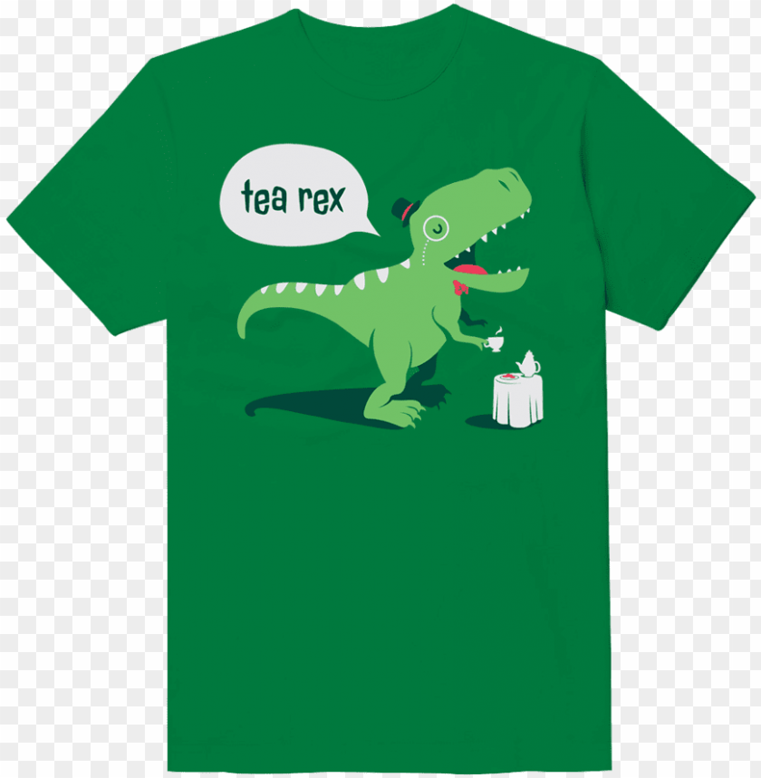 free PNG tea rex funny t-shirt - dino funny PNG image with transparent background PNG images transparent