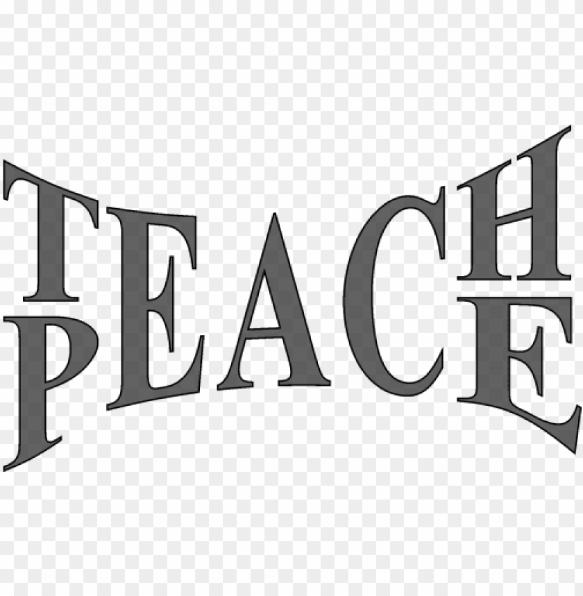 free PNG teach peace PNG image with transparent background PNG images transparent