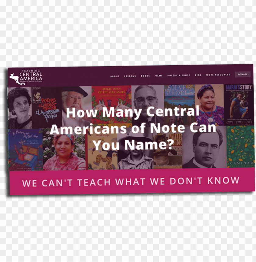 free PNG teaching central america website PNG image with transparent background PNG images transparent
