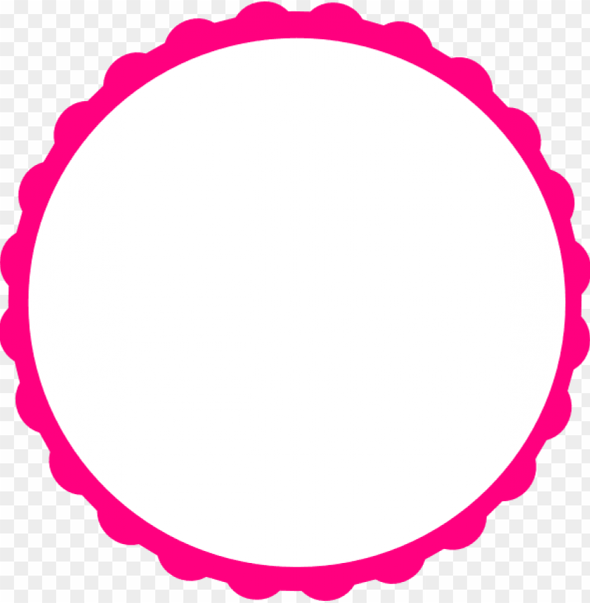free PNG teal scallop circle frame clip art at clker com vector - scalloped circle frame clip art PNG image with transparent background PNG images transparent