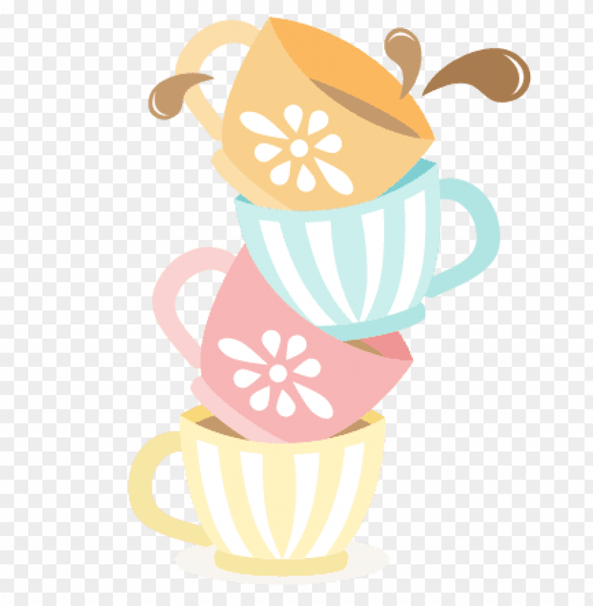 free PNG teapot and tea cup png picture transparent library - tea cups clipart PNG image with transparent background PNG images transparent