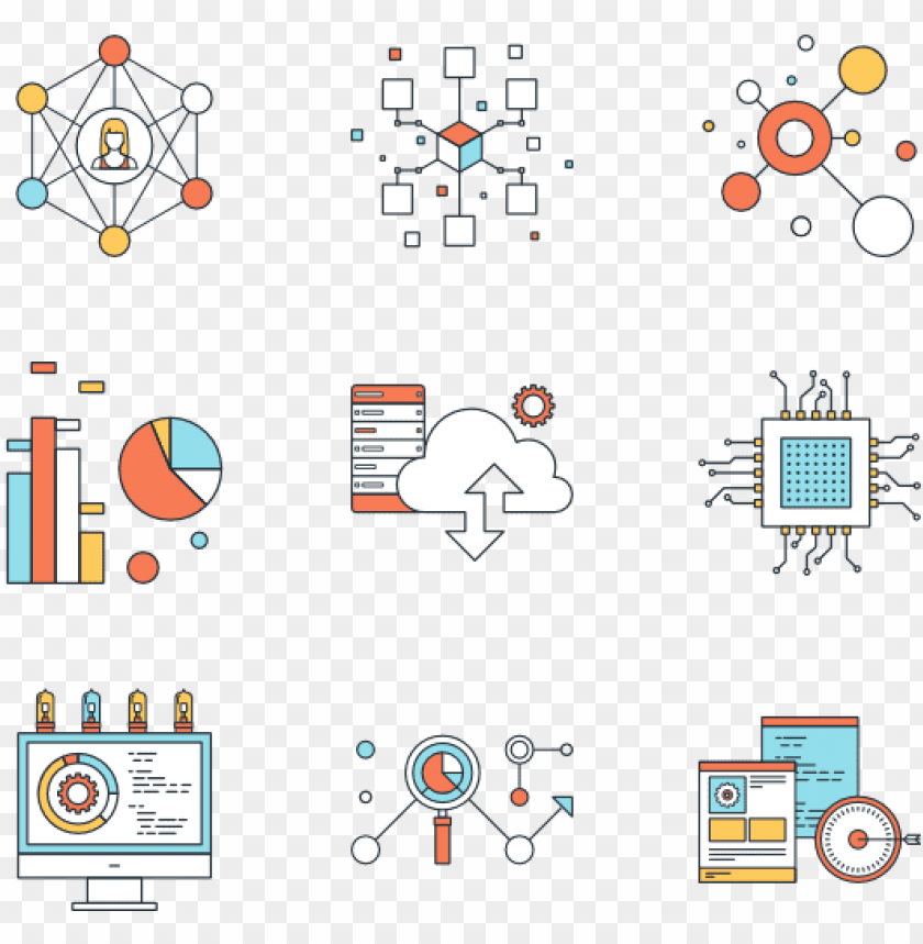 free PNG technology vector  - technology vector icons png - Free PNG Images PNG images transparent