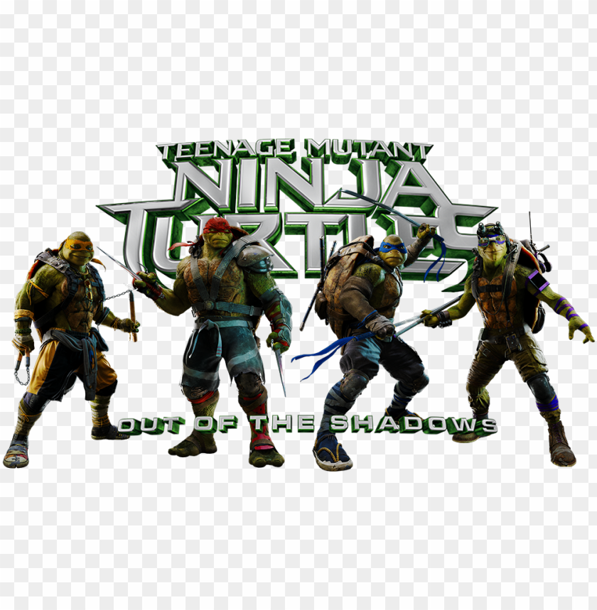 free PNG teenage mutant ninja turtles png transparent picture - teenage mutant ninja turtles out of the shadows summary PNG image with transparent background PNG images transparent