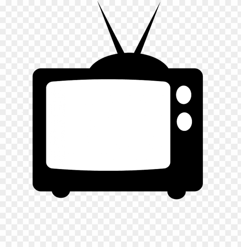 free PNG television clipart tube tv - television silhouette PNG image with transparent background PNG images transparent