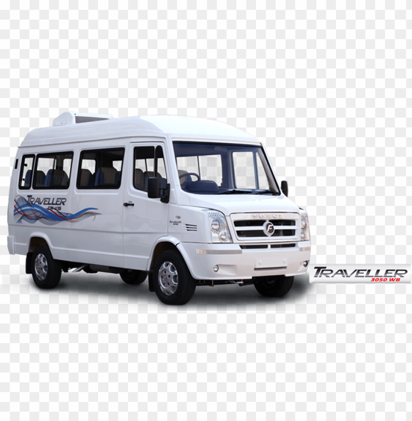 free PNG tempo traveller van mini bus chennai airport with driver - force tempo traveller PNG image with transparent background PNG images transparent