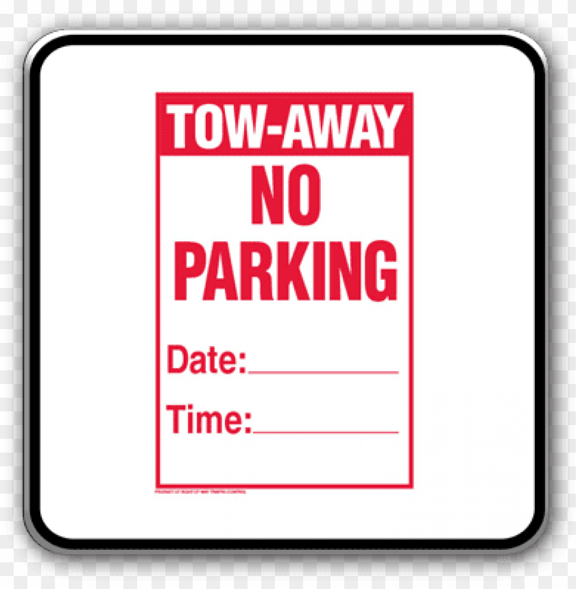 """free PNG temporary no parking signs - temporary no parking sign,12""""x18"""" cardboard sign (1) PNG image with transparent background PNG images transparent"""