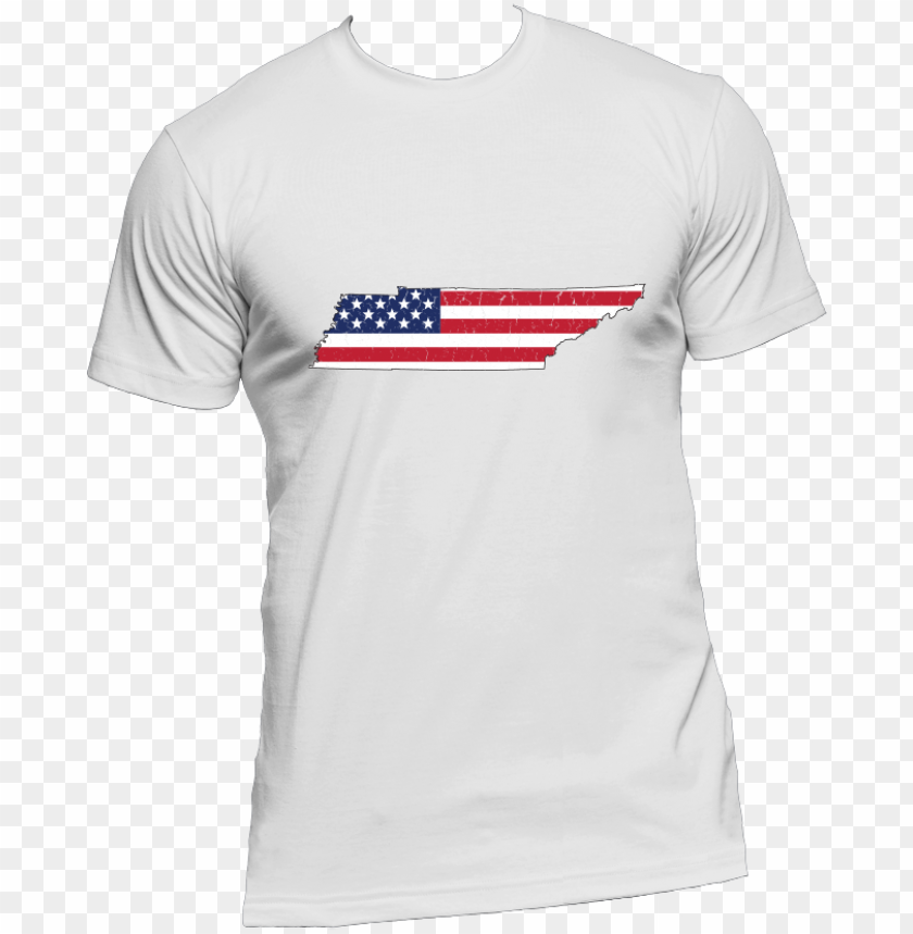 free PNG tennessee us flag state outline mens short sleeve t-shirt PNG image with transparent background PNG images transparent